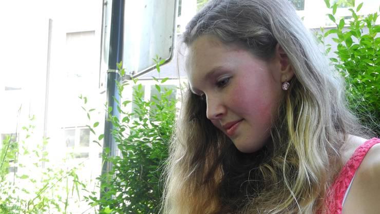 Für die Wettbewerbs-Gewinnerin Sophie Hollenstein soll Schreiben ein Hobby bleiben.