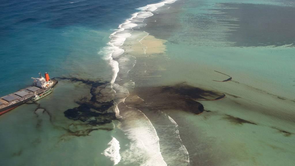 Ölkatastrophe vor Mauritius: Betreiber sagt Millionen-Hilfe zu