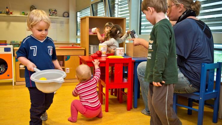 Der Kanton will bei der familienergänzenden Kinderbetreuung nur die Rahmenbedingungen regeln.