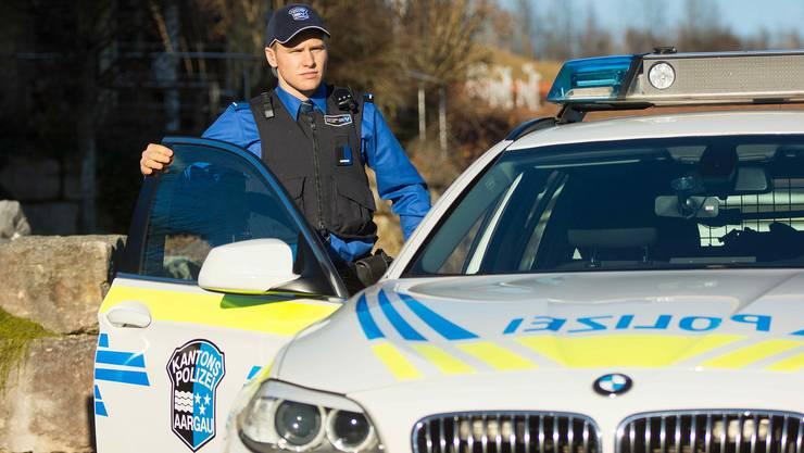 Der Kantonspolizei Aargau gingen acht Fahrzeuglenker ins Netz. (Symbolbild)