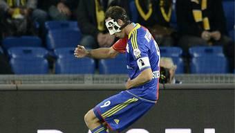 Marco Streller erzielte das 2:0 für den FCB.