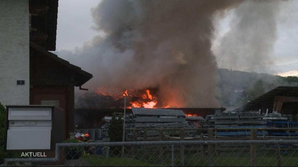 Grossbrand in Hallwil