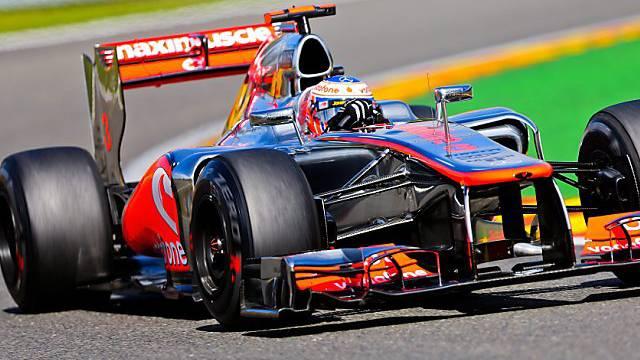 Jenson Button triumphierte beim GP in Belgien.
