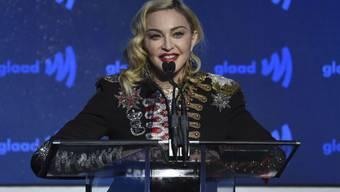 """Die Pop-Ikone Madonna darf auf ihrer Tour """"Madame X"""" in der Mailänder Scala keinen Stopp einlegen. Intendat Alexander Pereirat hat den Auftritt verboten. (Archiv)"""