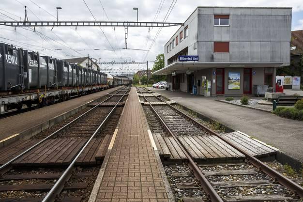 BLS Bahnhof Biberist,