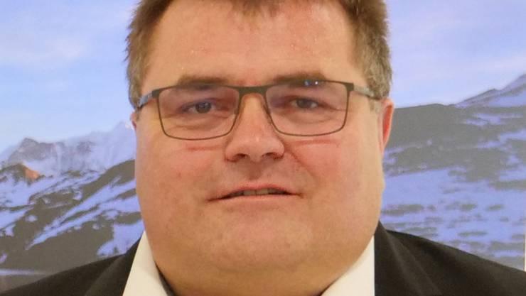 Christof Naier, Geschäftsführer Gallus Ferd. Rüesch AG.