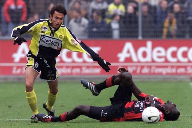 Atouba verletzte sich im Xamax-Trikot, wechselte aber trotzdem nach Basel. (Bild : Keystone)