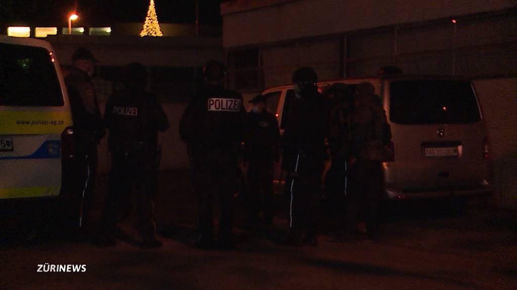 Mit Amoklauf gedroht: Polizei muss in Suhr (AG) wieder ausrücken