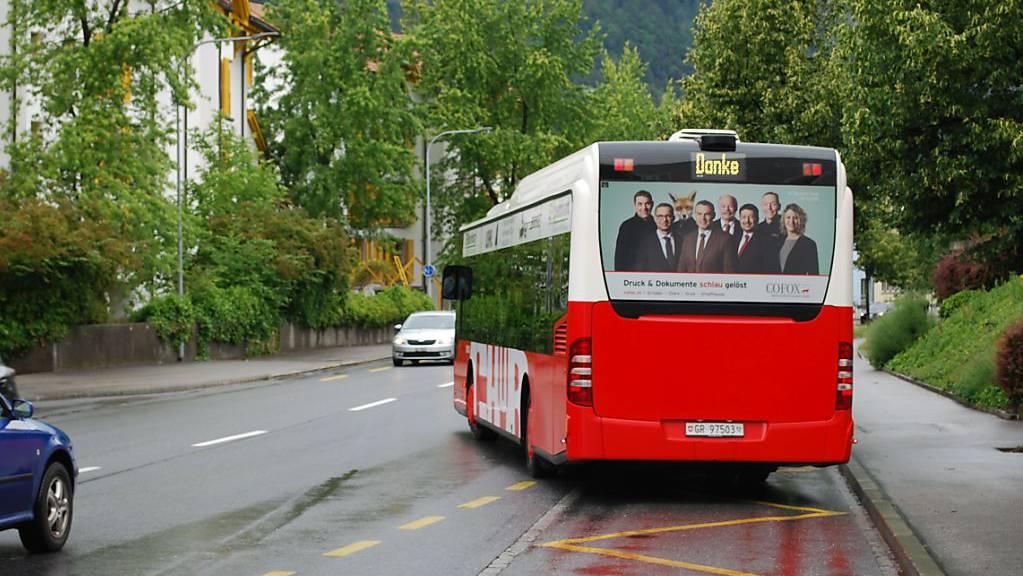 Die Busse in Chur und im Engadin legten letztes Jahr über drei Millionen Kilometer zurück.
