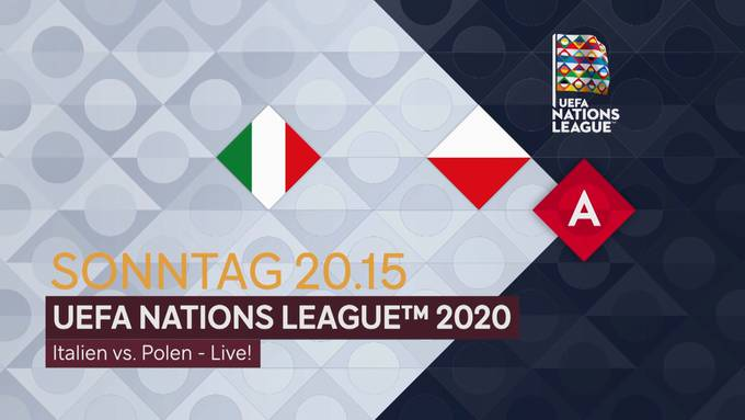 Fussball: UEFA Nations League 2020: Italien - Polen