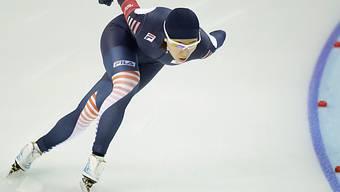 Die Südkoreanerin Sang Hwa Lee gewinnt Gold über 500 Meter