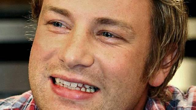Küchenspezialist Jamie Oliver (Archiv)