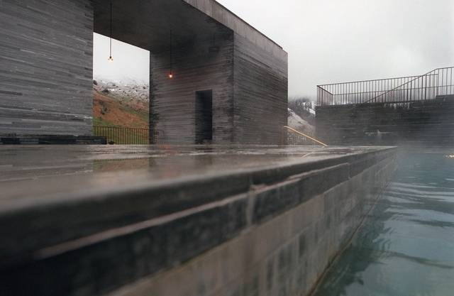 Thermalbad in Vals vom Stararchitekten Peter Zumthor