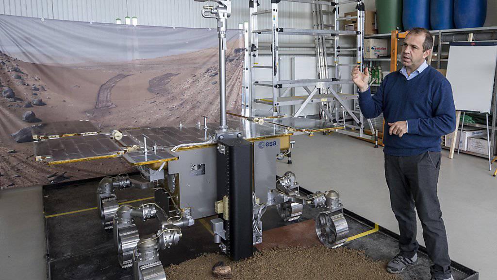 Verzögerung bei Mars-Rover-Mission?