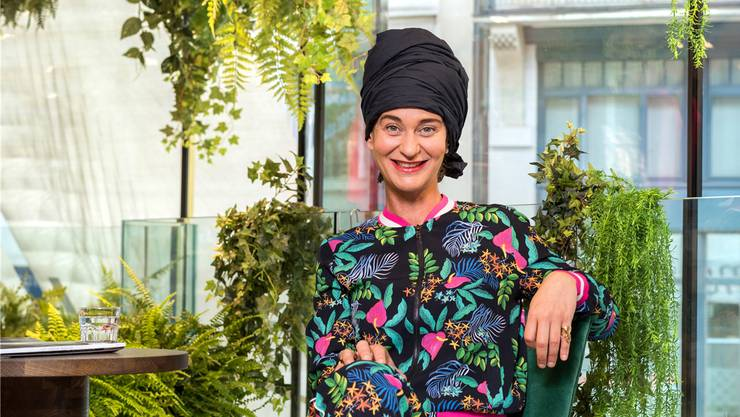 Suzanna Vock lanciert das Gwand Sustainable Fashion Festival.Pascal Triponez
