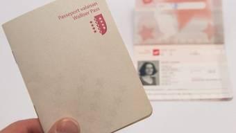 """Der """"Walliser Pass"""", ein aus Unzufriedenheit geborener PR-Gag"""