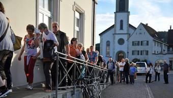 An der gemeinsamen Versammlung der Reformierten von Erlinsbach wurde die Pfarrer-Volkswahl abgeschafft. (Archivbild 2015)