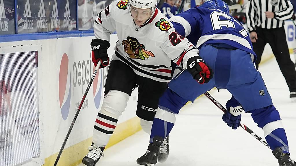 Erster NHL-Treffer für Kuraschew