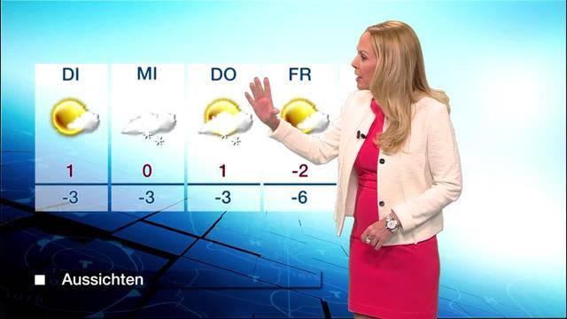 Tele M1-Wetter vom Sonntag, 1. Januar 2017