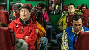 Unterwegs am Jungfraujoch