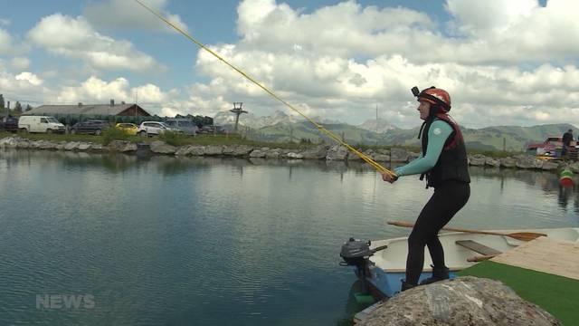 Höchster europäischer Wakeboardlift ist in Betrieb