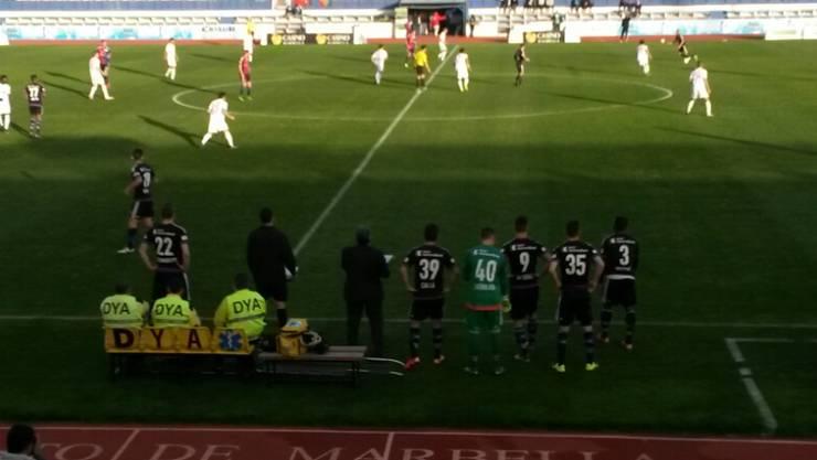 Unter der südspanischen Sonne führte der FC Basel gegen Augsburg einen Formcheck durch.