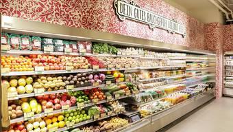 Das vegane Sortiment wird laufend erweitert. Coop hat mit dem Karma-Shop in Zug bereits eine eigene Vegan-Food-Filiale.