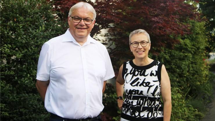 Martin Bihr und Ana G. Voellmin.