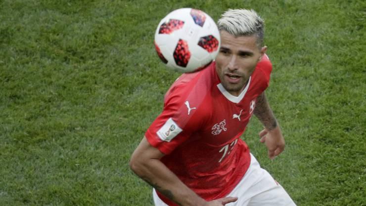 Wieder in Rotweiss, aber nicht für die Schweiz: Valon Behrami spielt in Zukunft für den FC Sion