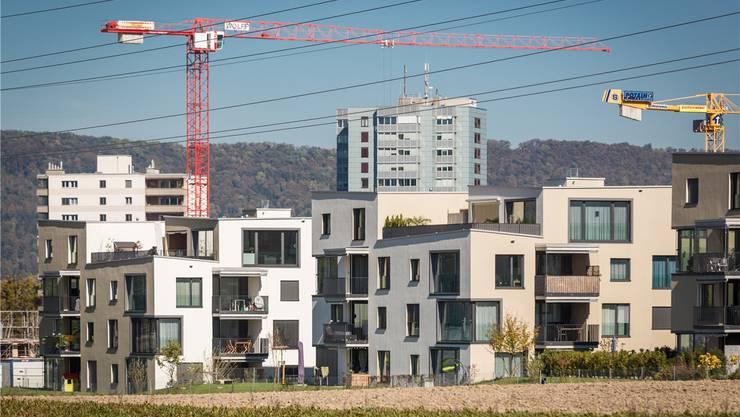 Bauboom in Staufen AG: Investoren lassen sich von hohen Leerständen nicht abschrecken.Chris Iseli