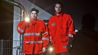 Patrouille der Feuerwehr Hirschthal als Bürgerwehr on Tour
