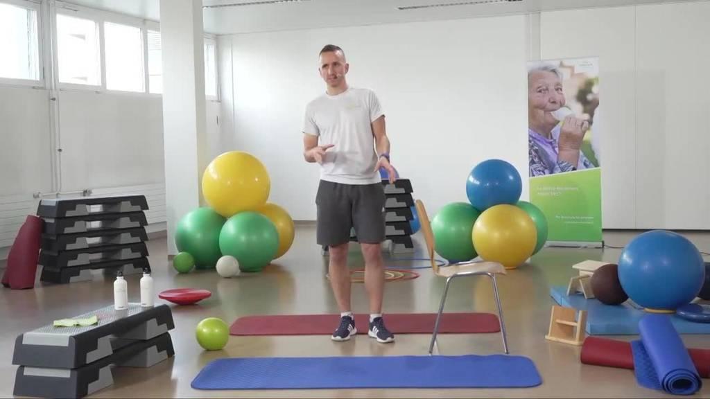 «Gymnastik im Wohnzimmer» vom 29. April 2021