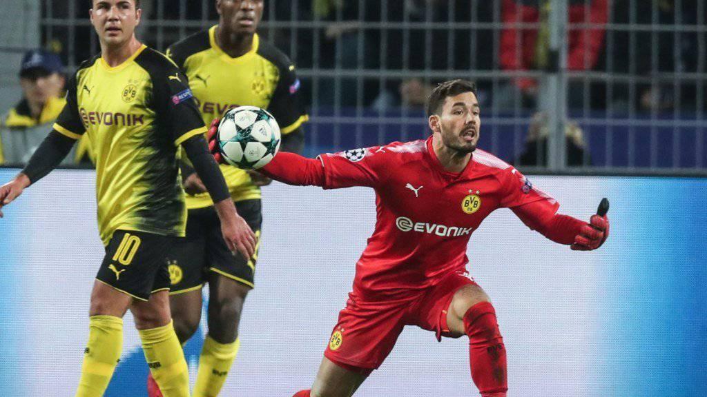 Dortmunds Goalie Roman Bürki trifft auf Atalanta und zwei Landsleute