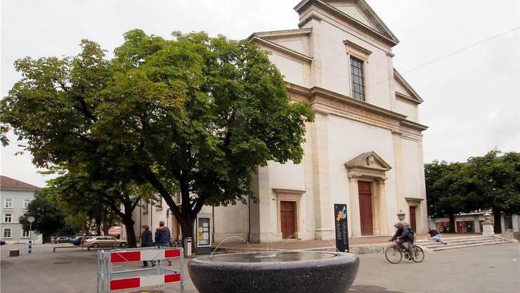So sah die Stadtkirche vor der Renovation aus.