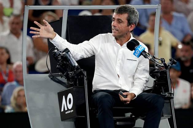 Carlos Ramos sorgte vor einem Jahr für viel Unmut bei Serena Williams.
