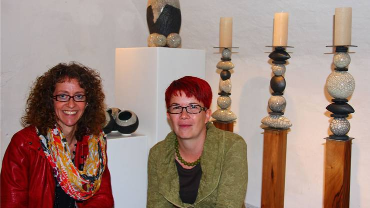 Brigitte Wyss-Bieli (l.) und Martina Bader Kiener.