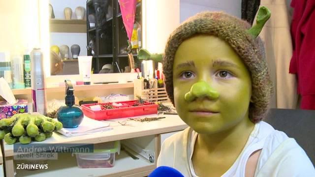 Zürcher als Kostümbildner für Musical Shrek