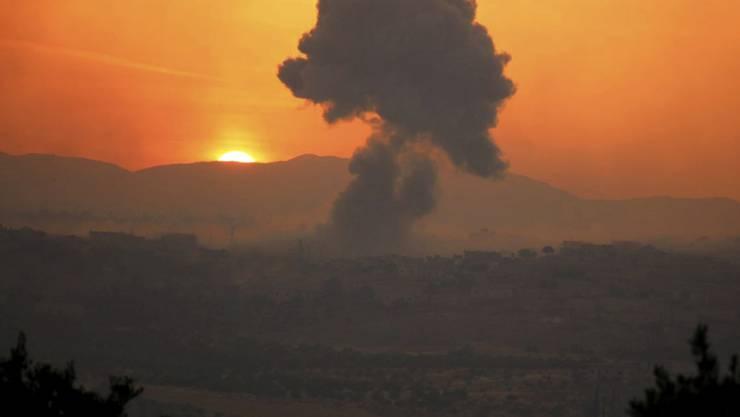 Gefechte in der syrischen Provinz Idlib. (Archivbild)