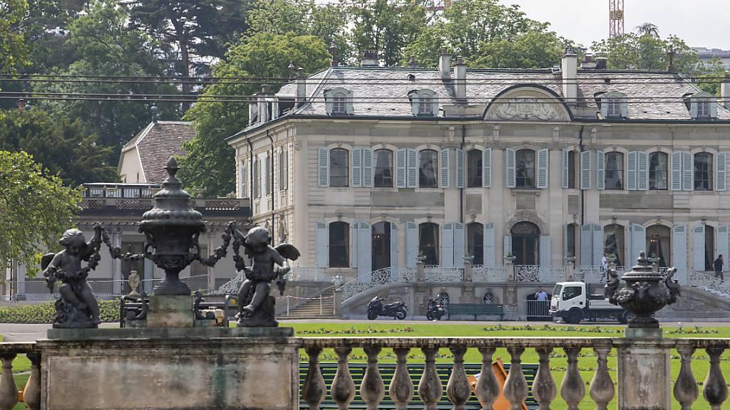 Biden und Putin treffen sich in Genfer Villa La Grange