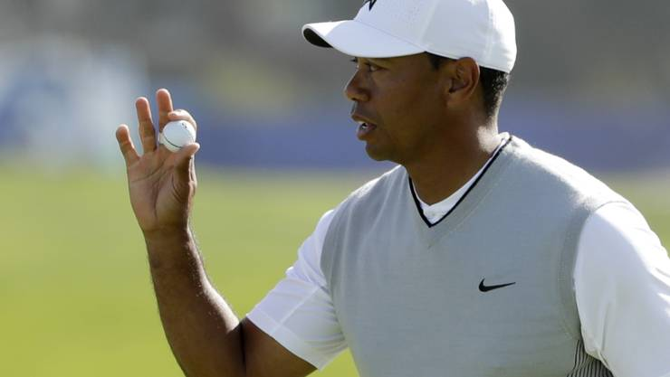 Tiger Woods wird allmählich wieder leutselig