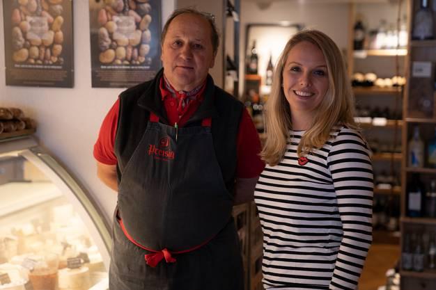 Hans Preisig hat uns sein Geschäft «Preisig Käse und Wein» gezeigt.