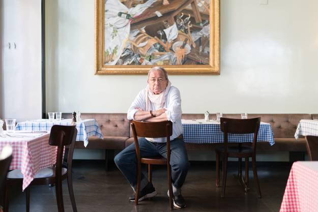 Koni Frei ist Teilhaber an Bars und Restaurants im Zürcher Langstrassenquartier. Er macht sich Sorgen um die kleinen Läden.