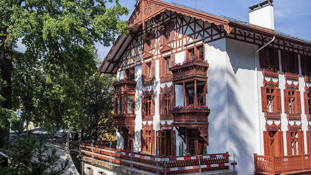 Im renovierten Schweizerhaus im Luzerner Gletschergarten wohnte einst die Gründerfamilie des heutigen Museums.