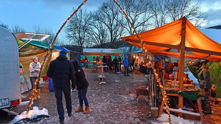 Der erste Weihnachtsmarkt in Hauenstein-Ifentahl letztes Jahr.