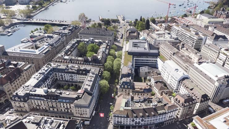 Die Immobilie an der Ecke Bahnhofstrasse und Kuttelgasse verfüge über rund 1'600 Quadratmeter Fläche und solle nun umgebaut werden. (Themenbild)
