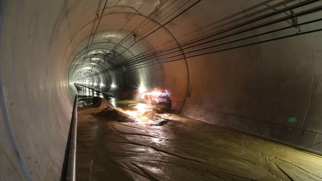 Sanierung des Lötschberg-Basistunnels dauert bis Ende Januar
