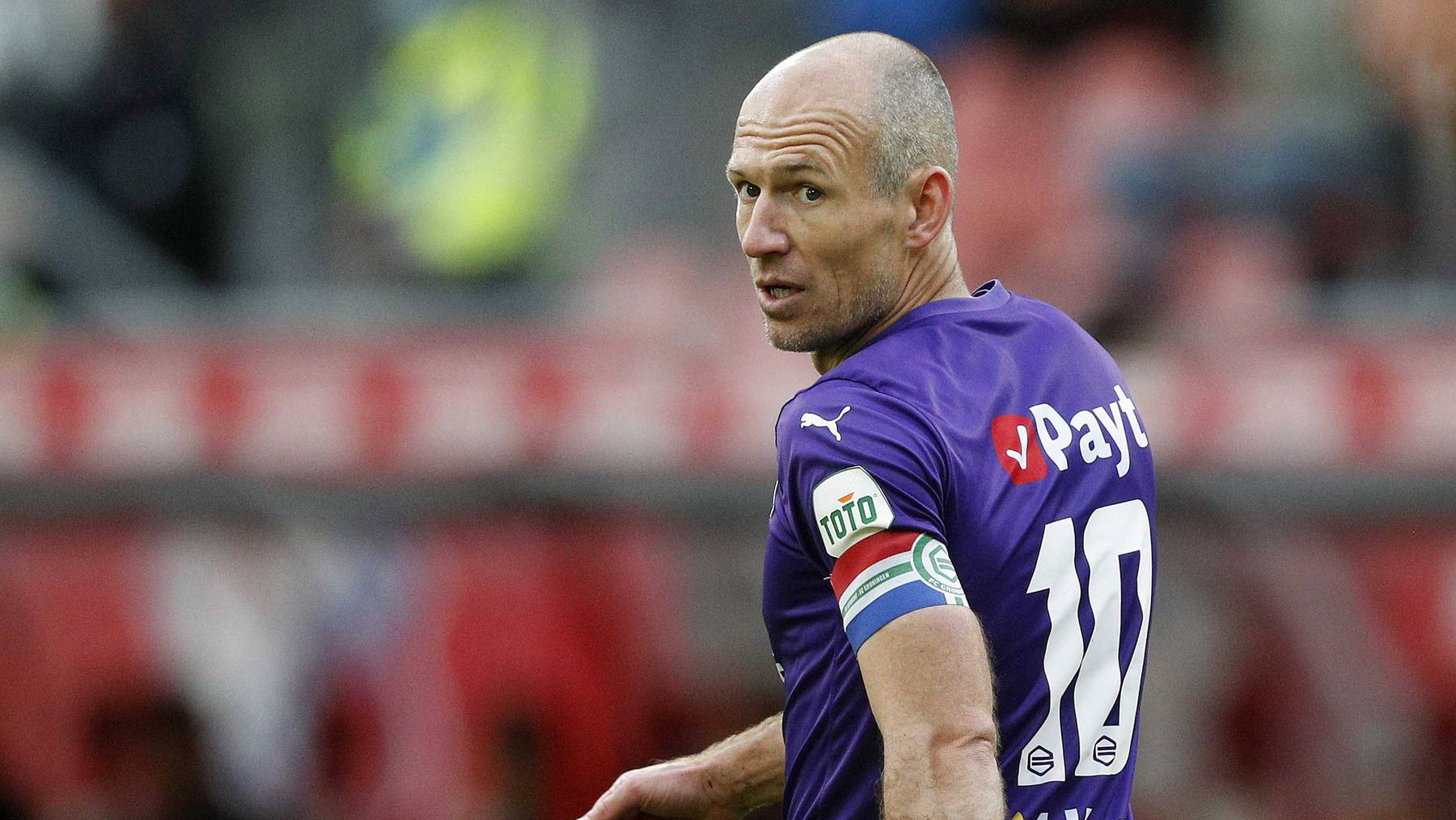 Der FC Groningen ist die letzte Station in Arjen Robbens Karriere.