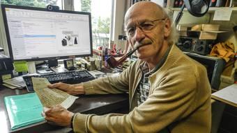 Der Sammler René Schmid besitzt den hochbrisanten Brief des kriminellen Pfarrers Welti.  Jörg Baumann