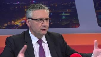Andreas Glarner im «TalkTäglich»: «Wir können diese Asylanten doch jetzt aufnehmen, ich habe doch kein Problem damit»