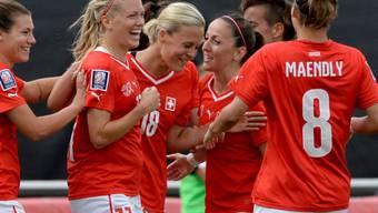 Die Schweizer Fussballerinnen sind erstmals an einer WM dabei